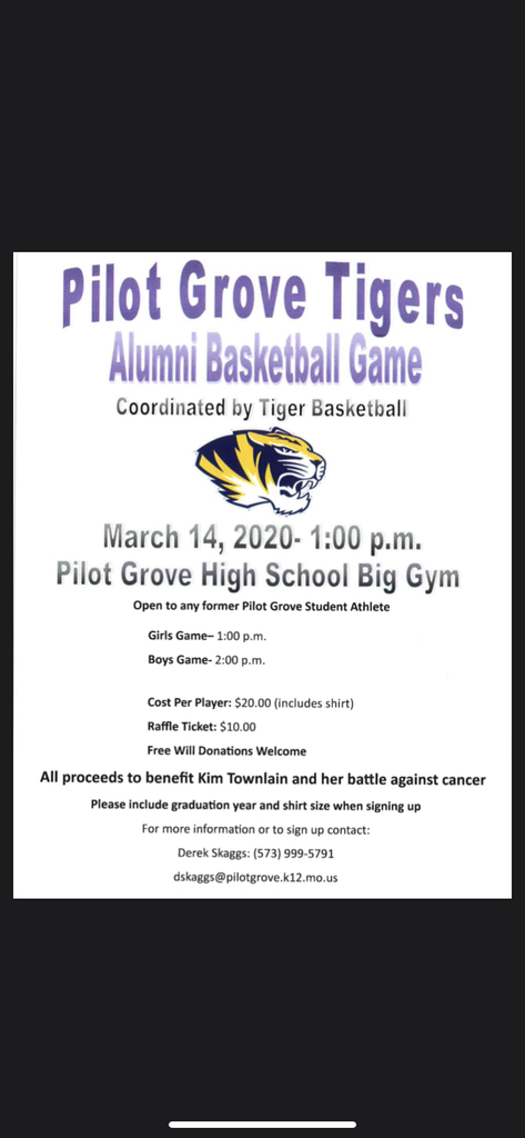 Pilot Grove Alumni Basketball Game