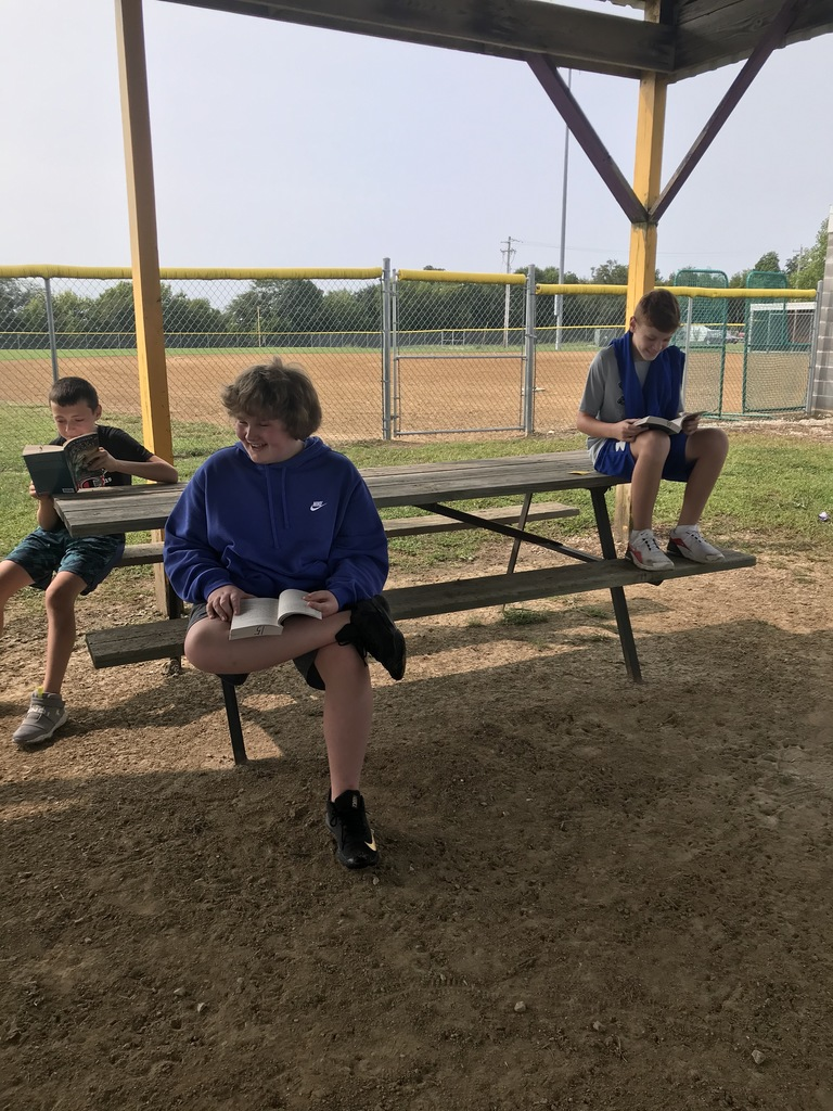 Sixth Grade Students Reading